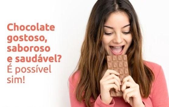 CHOCOLATE SAUDÁVEL E SABOROSO? É POSSÍVEL SIM!